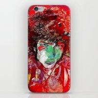 bob dylan iPhone & iPod Skins featuring Bob Dylan by Irmak Akcadogan
