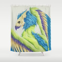 Gryphon Shower Curtain