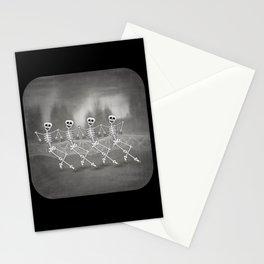 Dancing skeletons I Stationery Cards