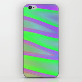 Colors swimming on grey iPhone Skin