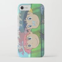 ponyo iPhone & iPod Cases featuring Ponyo by Susan Lewis