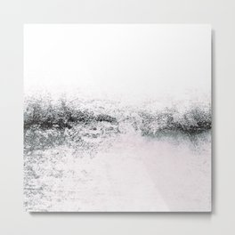 SNOWDREAMER WHITE Metal Print