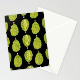 strange fruits (durian) Stationery Cards