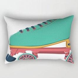 old school roller skate Rectangular Pillow