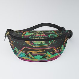 Skull Riders Of The Cosmic Storm Fanny Pack