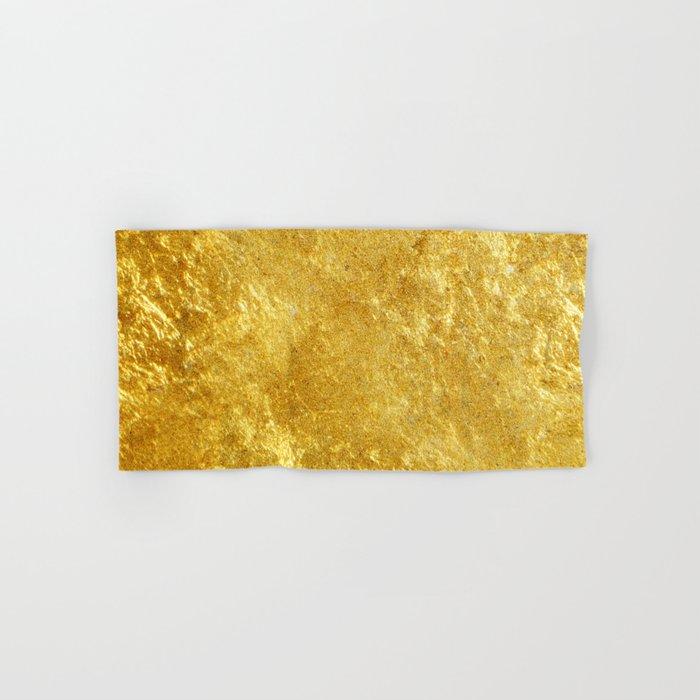 Golden Texture #lifestyle #society6 Hand & Bath Towel