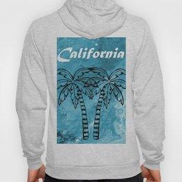 California Palm Trees Hoody