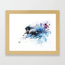 """""""Poseidon"""" Framed Art Print"""