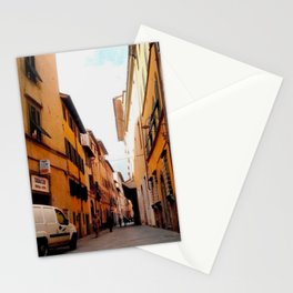 Italy In A View: Postcard From Lucca Stationery Cards