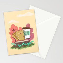 The Quest For A Perfect Cup Of Coffee Stationery Cards