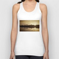 golden Tank Tops featuring golden by Bonnie Jakobsen-Martin