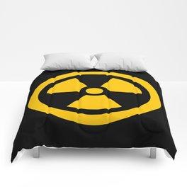 Yellow Radioactive Comforters