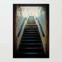 Eroded Staircase 1 Canvas Print
