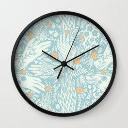 Gettin' Handsy Wall Clock