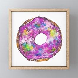 Psychedelic Phrosted Doughnut Baker's Dozen #1 Framed Mini Art Print