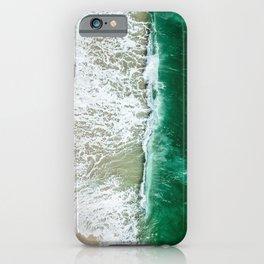 miami beach aerial view iPhone Case