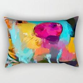 Mini Pig Rectangular Pillow