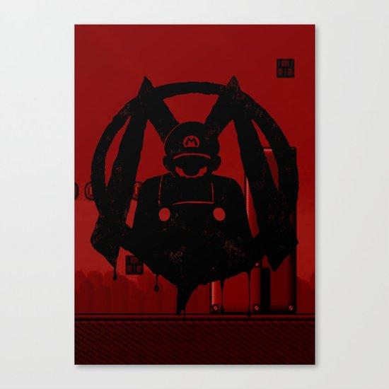 M For Mario Canvas Print