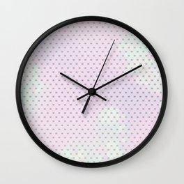 Purple Mesh Wall Clock