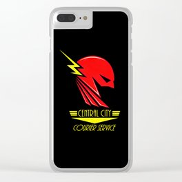 Central City Courier Service Clear iPhone Case