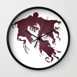 DEMENTOR AND DEER Wall Clock