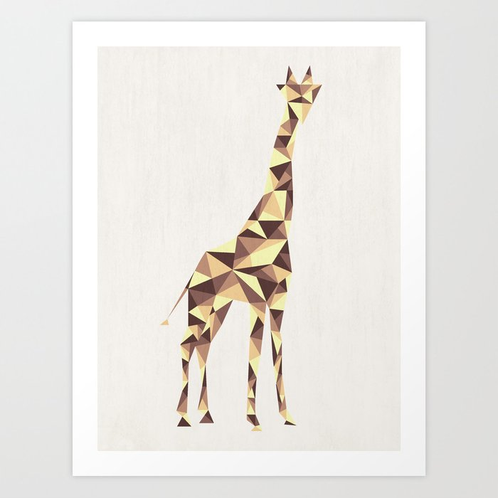 Giraffe #2 Art Print