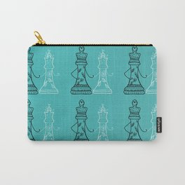 Chess King Qeen Carry-All Pouch