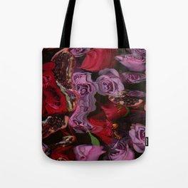 Roses and Pomegranates Tote Bag
