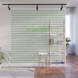 Ever wanted to be a Hacker Wall Mural