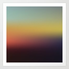 Sunset Gradient 5 Art Print