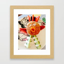 Angry Bird Framed Art Print