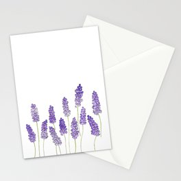 Watercolor lavender Stationery Cards