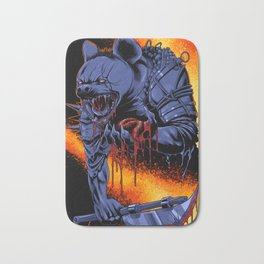 Dungeons, Dice and Dragons _ Gnoll Bath Mat