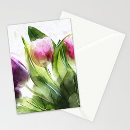 Messengers of spring Stationery Cards