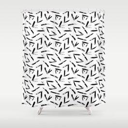 Pocket Knives Shower Curtain