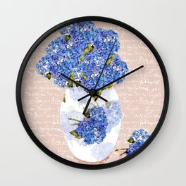 Afternoon Bouquet Wall Clock