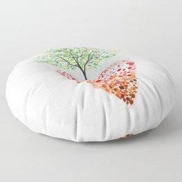 Tree of life heart Floor Pillow