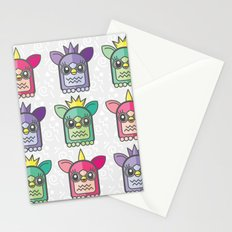 Nineties Furby Pattern  Stationery Cards