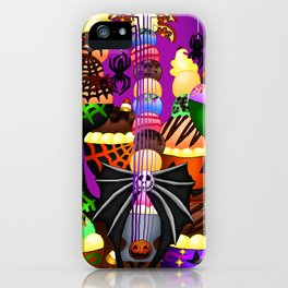 Fusion Keyblade Guitar #199 - Pumpkinhead & Sweetstack iPhone Case
