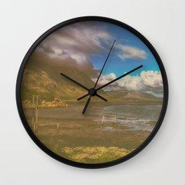 Tranquil Shoreline Wall Clock