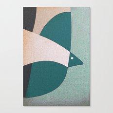 L'uccello in Volo Canvas Print