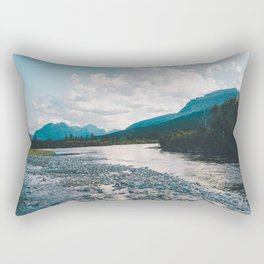 Saint Mary Lake, Montana Rectangular Pillow