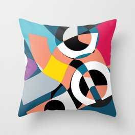 Canapes Throw Pillow