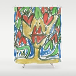 Serenity - Love Shower Curtain