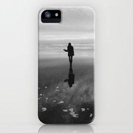 Sunset at Ocean Beach iPhone Case
