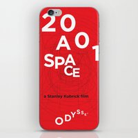 2001 iPhone & iPod Skins featuring 2001: a space odyssey by Rodrigo Müller