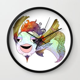 The Flying Bahamut Wall Clock