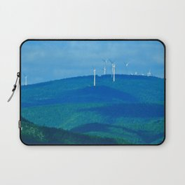 Windmills on the Hill Laptop Sleeve