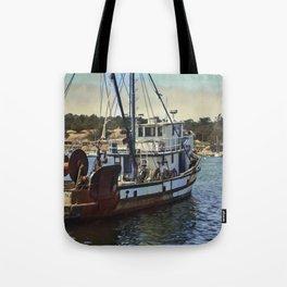 Monterey Fishing Tote Bag