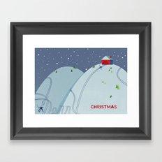 Holiday Hills Framed Art Print